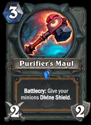 Purifier's Maul Card