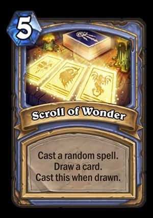 Scroll of Wonder Card