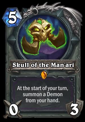 Skull of the Man'ari Card