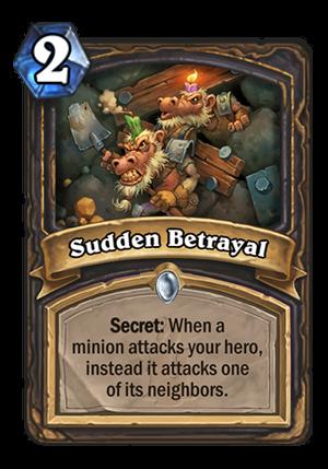 Sudden Betrayal Card