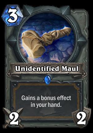 Unidentified Maul Card