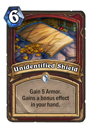 Unidentified Shield Card