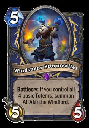 Windshear Stormcaller Card