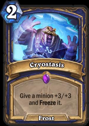 Cryostasis Card