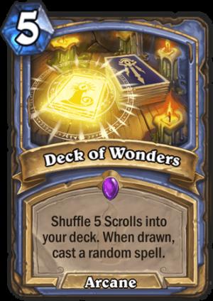 Deck of Wonders Card
