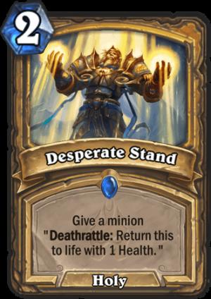 Desperate Stand Card