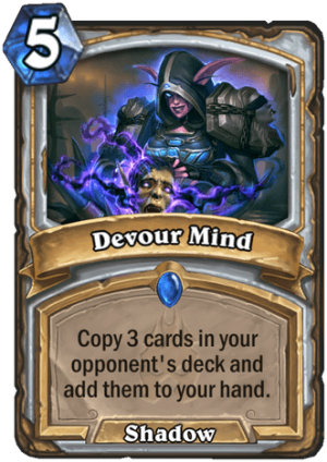 Devour Mind Card