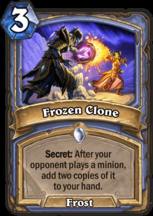 Frozen Clone Card