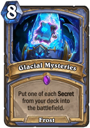 Glacial Mysteries Card