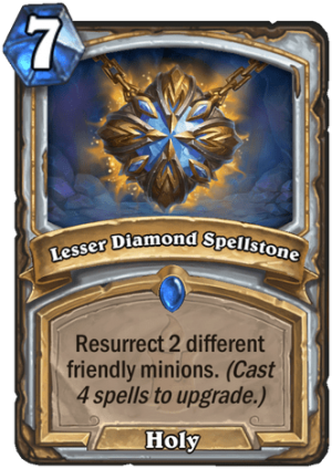 Lesser Diamond Spellstone Card