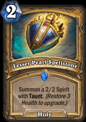 Lesser Pearl Spellstone Card