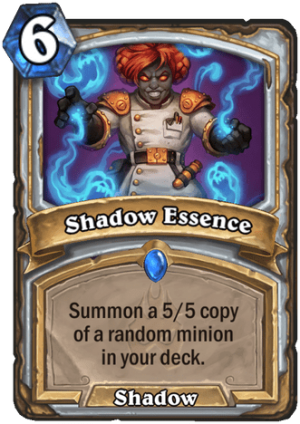 Shadow Essence Card