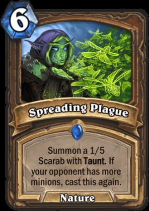 Spreading Plague Card