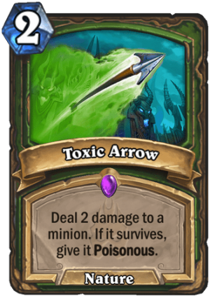 Toxic Arrow Card