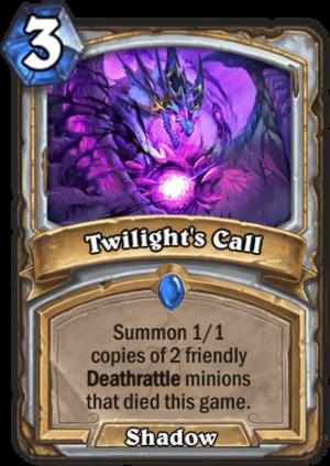 Twilight's Call Card