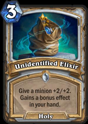 Unidentified Elixir Card