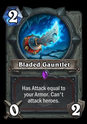 Bladed Gauntlet Card