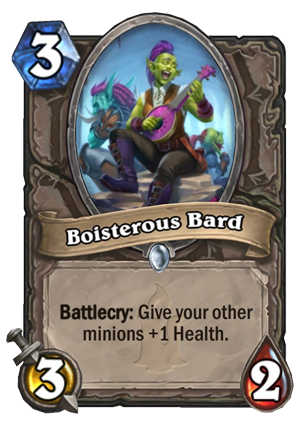 Boisterous Bard Card