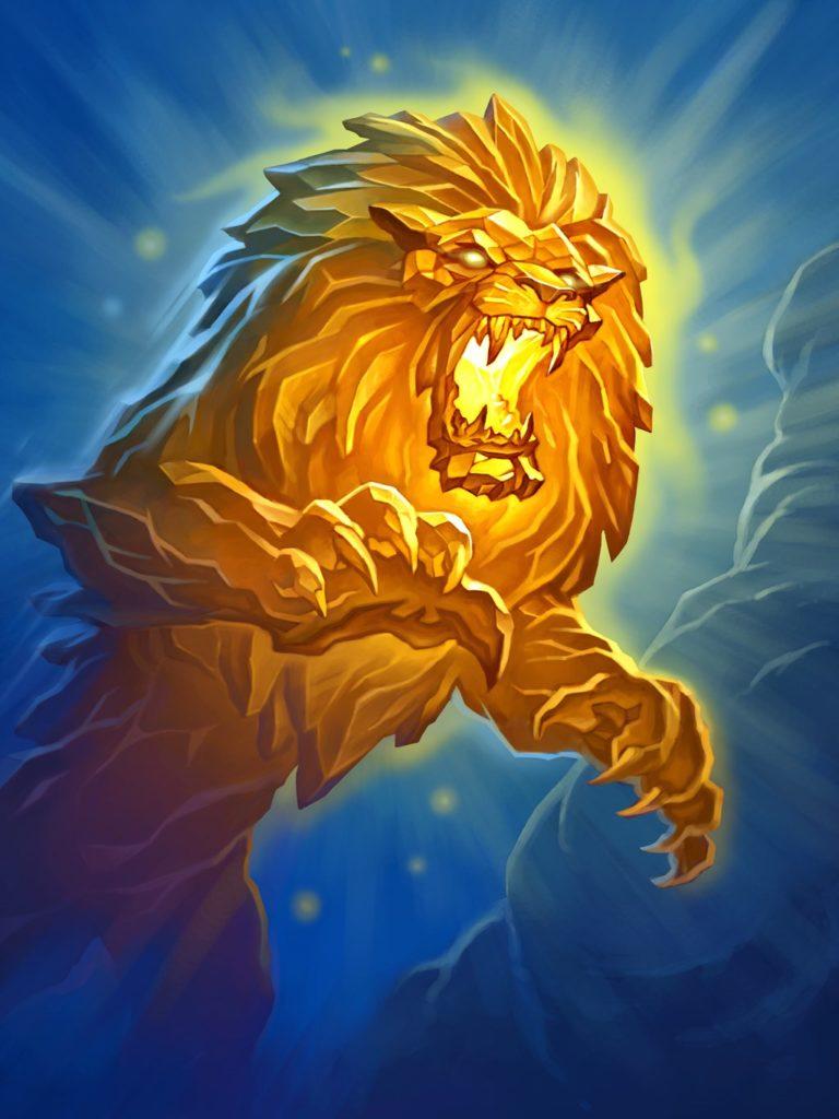 Crystal Lion Full Art