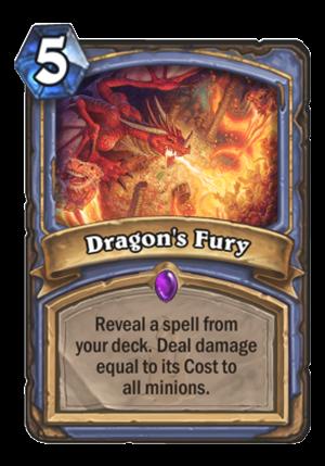 Dragon's Fury Card