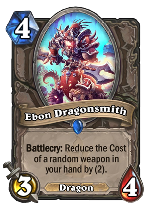 Ebon Dragonsmith Card