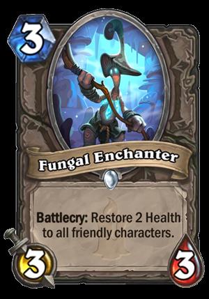 Fungal Enchanter Card