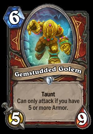 Gemstudded Golem Card
