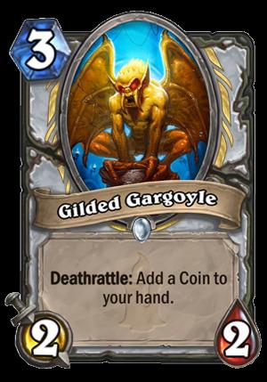 Gilded Gargoyle Card