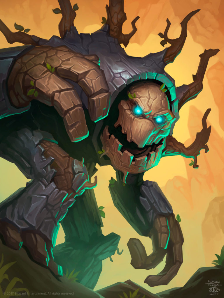 Ironwood Golem Full Art