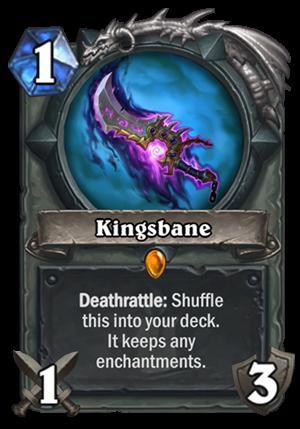 Kingsbane Card