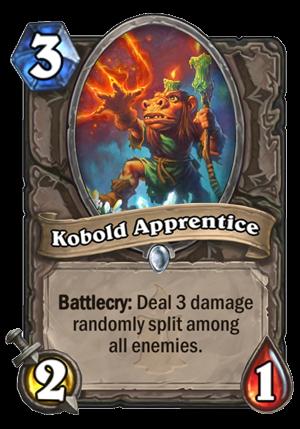 Kobold Apprentice Card