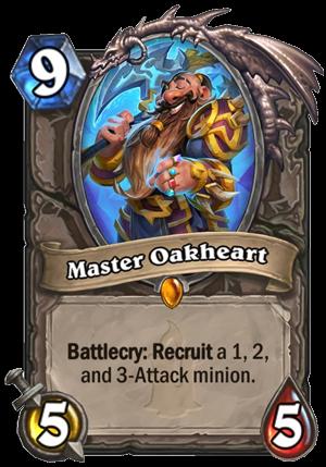 Master Oakheart Card