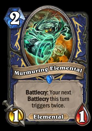 Murmuring Elemental Card