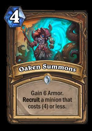 Oaken Summons Card