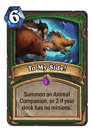 To My Side! Card