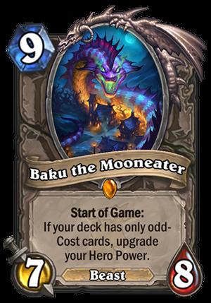 Baku the Mooneater Card