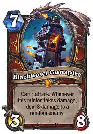 Blackhowl Gunspire Card