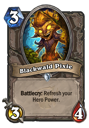 Blackwald Pixie Card