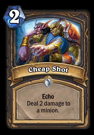 Cheap Shot Card