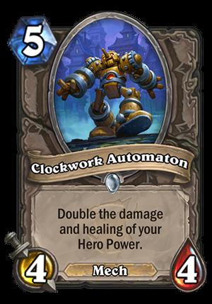 Clockwork Automaton Card