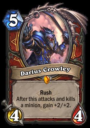 Darius Crowley Card