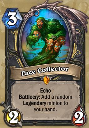 Face Collector Card