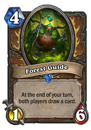 Forest Guide Card