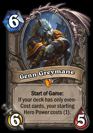 Genn Greymane Card