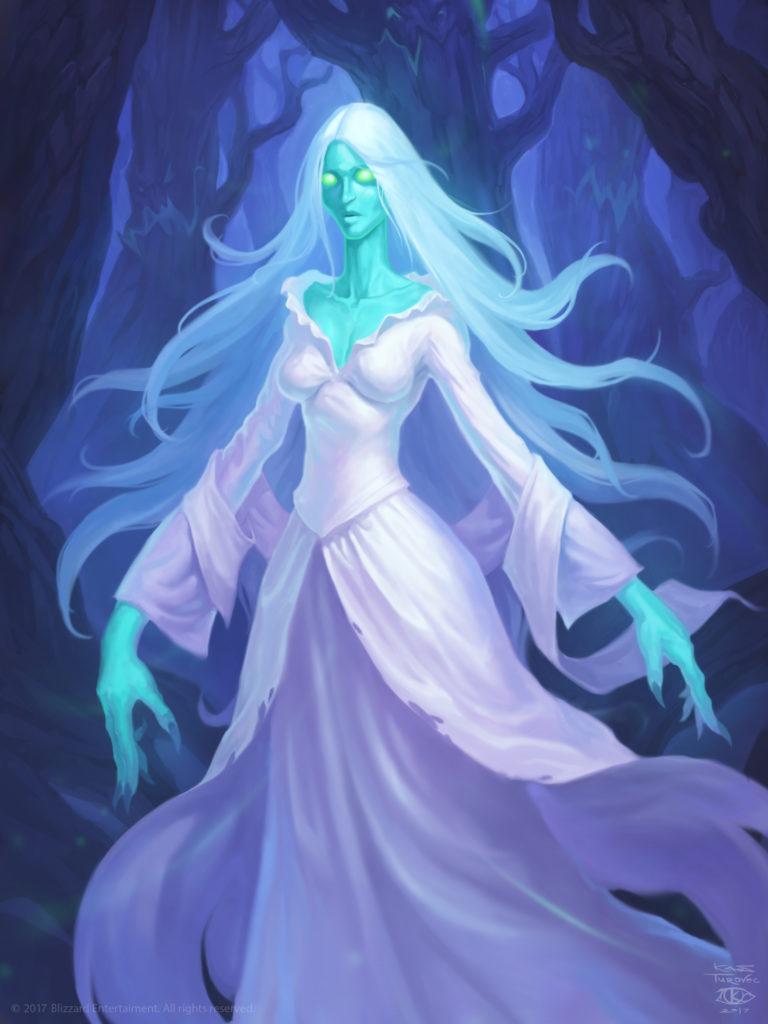 Lady in White Full Art