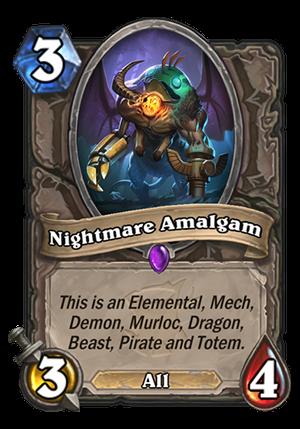 Nightmare Amalgam Card