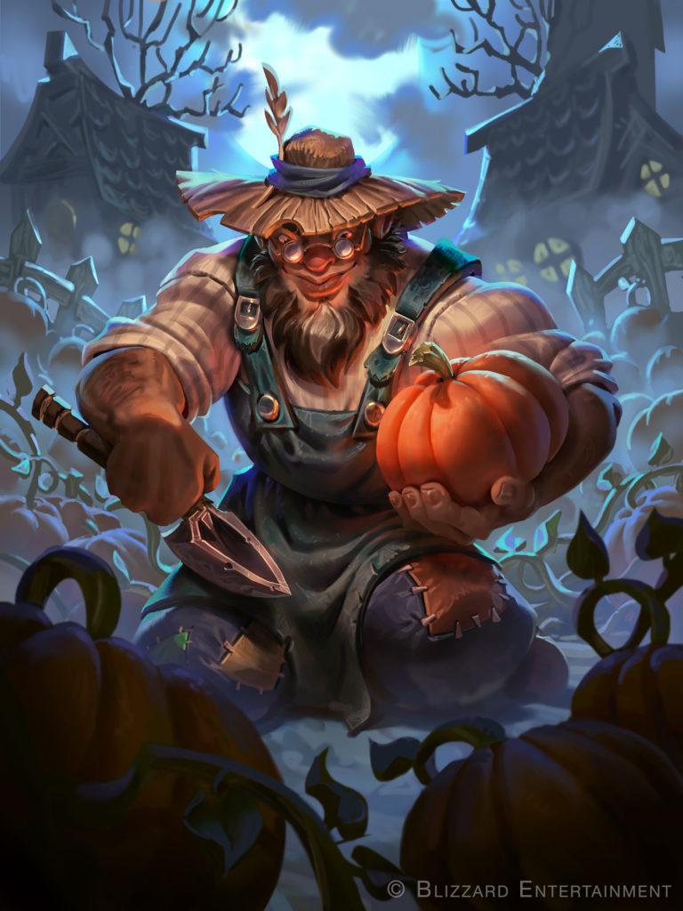 Pumpkin Peasant Full Art