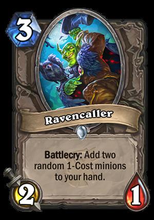 Ravencaller Card