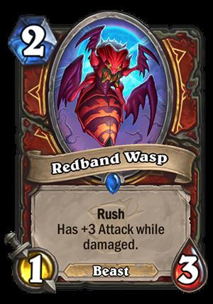 Redband Wasp Card