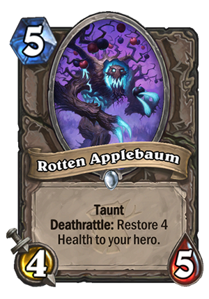 Rotten Applebaum Card